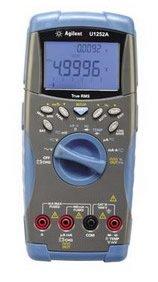 Agilent Digital Multimeter, Handheld, 50K Cnt, .025% Accur
