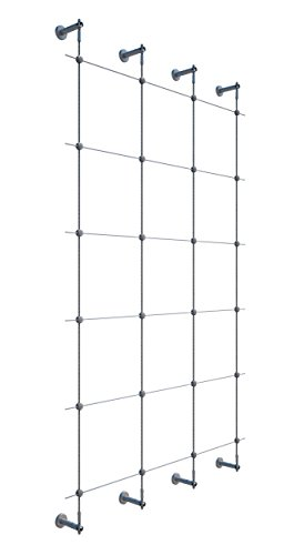 96 in. Wire Rope Plant Trellis System (Trellis Wire compare prices)