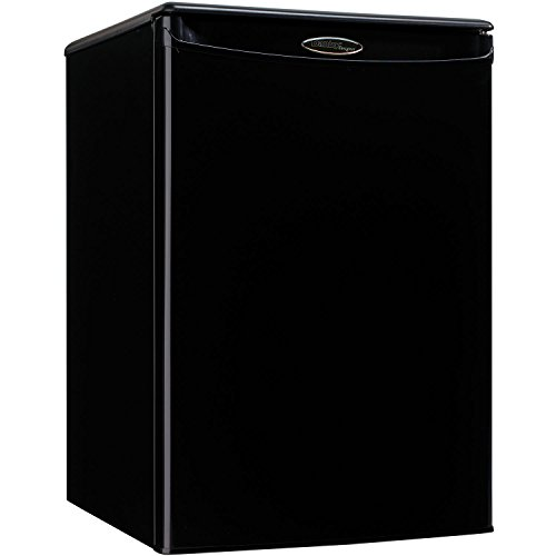Danby Designer DAR026A1BDD Compact All Refrigerator, 2.6-Cubic Feet, Black (Little Freezer compare prices)
