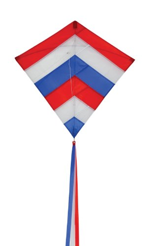 In the Breeze Patriot Layers Diamond Kite, 30-Inch
