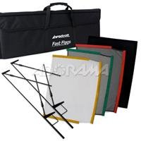 Westcott 1957 Fast Flags 24 x 36 Inches Fast Flag Kit (Black) Review
