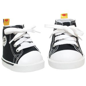 31gmCTU806L Cheap  Build A Bear Workshop Black Canvas High tops
