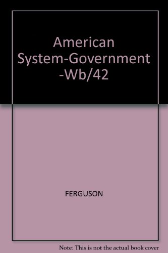 The American System of Government PDF