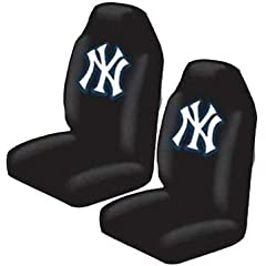New York Yankees Auto Seat Cover Universal Fit Set of Two by MLB