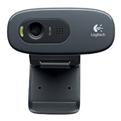 Logitech HD Webcam C270, 720p Widescreen Video Calling and Recording - Non-Retail/Bulk Packaging