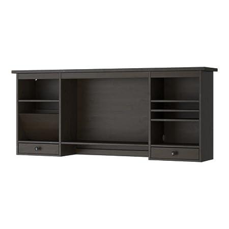 IKEA HEMNES - Add-on appareil de table, brun-noir - 152x63 cm