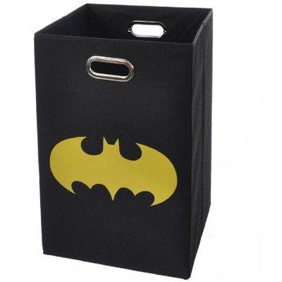 Batman Shield Folding Laundry Basket, Black at Gotham City Store