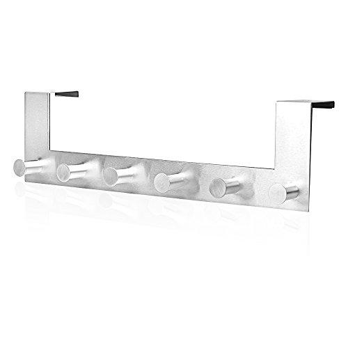 Over the Door Hooks – Gradation House™ – Simple and Elegant Door Hanger for Clothes and Towels – Bathroom Door Hook – Lifetime Guarantee