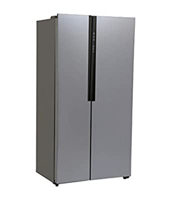 haier hrf 618ss frost free side by side refrigerator 565. Black Bedroom Furniture Sets. Home Design Ideas