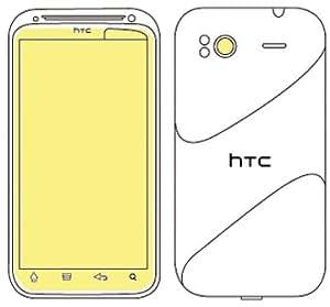 Martin Fields Overlay Plus Screen Protector (HTC Sensation XE/Sensation) - Includes Camera Lens Protector