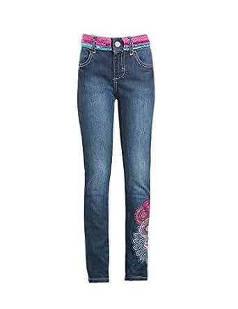 Amazon.com Desigual Big Girlsu0026#39; Denim Jeans Blue 14 ...