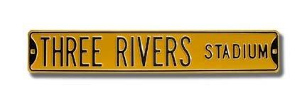 Three Rivers Stadium Authentic Street Sign