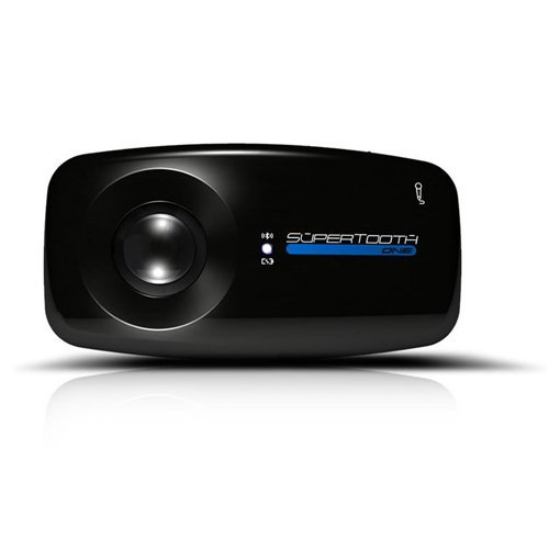 Supertooth One Bluetooth Visor Speakerphone Car Kit - Black