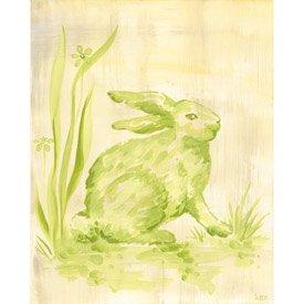 Toile Bunny Canvas Wall Art