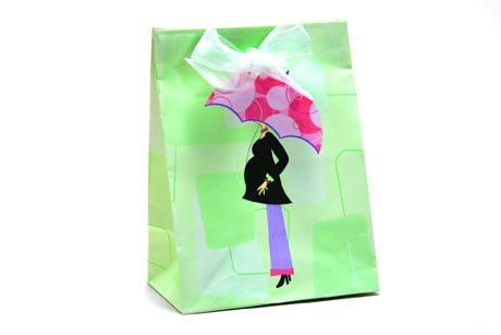 Mod Mom Baby Shower Mini Favor Bags 18Ct front-462811