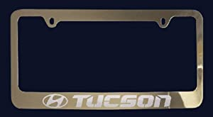 Amazon Com Hyundai Tucson License Plate Frame Zinc Metal