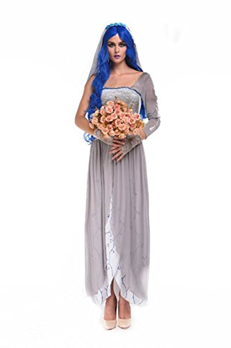 Lover-baby® Find Your True Love Pretty Hot Corpse Bride Halloween Scary Costumes