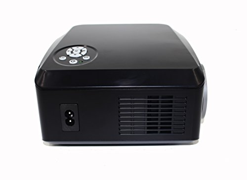 Abdtech 130 mini led projector 1000 lumens 800 480 for Beamer portable