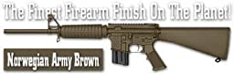 Lauer Custom Weaponry DCBK193 DuraCoat Beginners Kit - Norwegian Army Brown