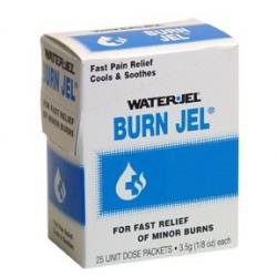 Water Jel Burn Gel Unit Dose Packets (Pack of 25)