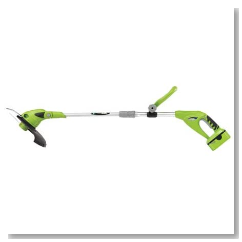 18 Volt Lithium-Ion Cordless Electric String Trimmer/Edger 18 Volt Lithium-Ion Cordless Electric St