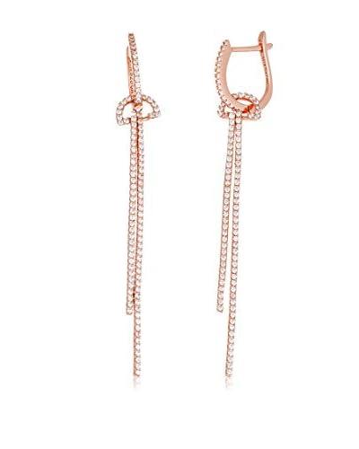 Bliss 18K Rose Gold-Plated Swarovski Elements Chain Earrings
