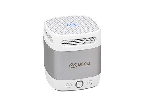 New Miikey Miibox Mini Grey Bluetooth Speaker
