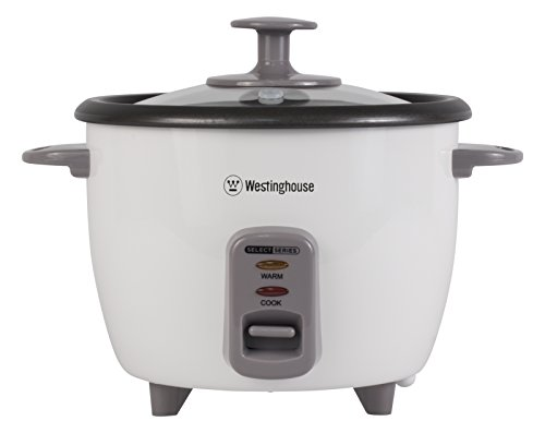 Westinghouse WRC10WA Select Series 10 Cup (Cooked), 5 Cup (Uncooked) Rice Cooker / Food Steamer, White - Amazon Exclusive (Rice Cookers & Steamers compare prices)