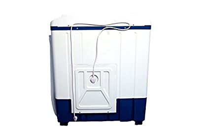 Mitashi MiSAWM65v10 Semi-automatic Top-loading Washing Machine (6.5 Kg, White and Blue) with 2 + 3 years extended...