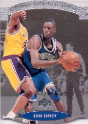 1995-96 SP All-Stars #AS28 Kevin Garnett - RC - Rookie Insert - Timberwolves (Boston Celtics)
