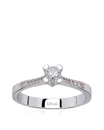 Divas Diamond Anello Oro Bianco 12