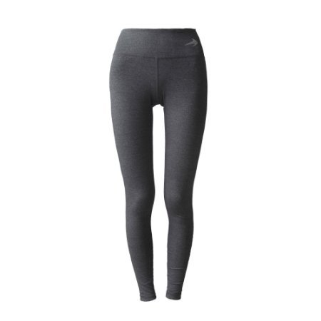 Women's Compression Pants (Heather Gray – M) Best Full Leggings Tights for Running, Yoga, Gym by CompressionZ