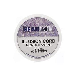 Beadsmith Illusion Monofilament Bead Cord .010 In 6 lb 164ft