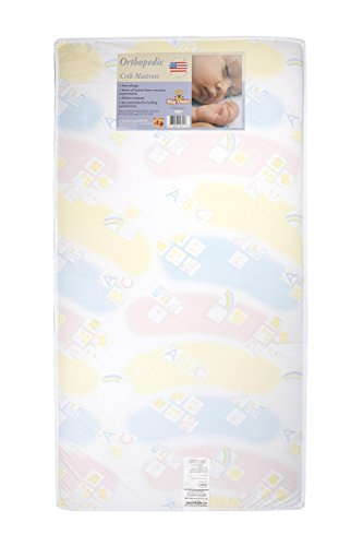 "Big Oshi 5"" Full Size Crib & Toddler Bed Mattress - 1"