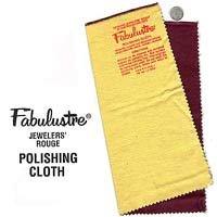 Silver Polish Polishing Fabulustre Cloth Jewelers Rouge