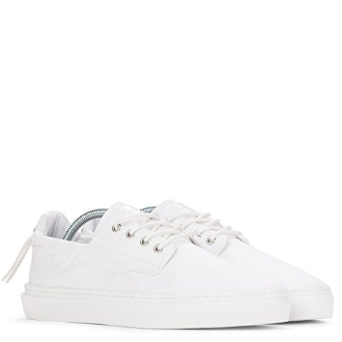 Clear Weather Eighty Low Top Shoes - White Canvas - 9 Men's / 10.5 Women's