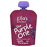 Ella's Kitchen Organic Smoothie Fruits The Purple One Single 90g