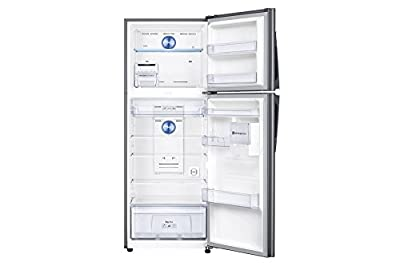 Samsung RT42K5468SL/TL Frost Free Freezer-on-Top Free-Standing Refrigerator (415 Ltrs, 3 Star Rating, Easy Clean...
