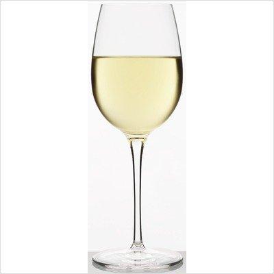 Luigi Bormioli Allegro 16-1/4-Ounce Chardonnay Wine Glasses, Set of 4