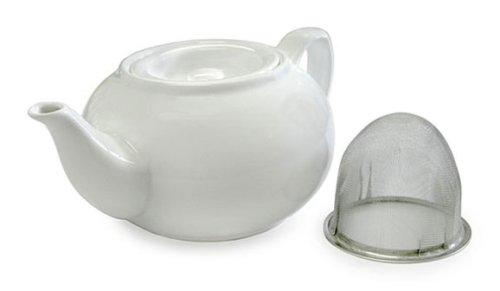 Imagen de Adagio Teas PersonaliTea 21-Ounce tetera de cerámica con la cesta Infuser