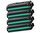 Set of 4 High Capacity Compatible Samsung CLT-506L High Capacity Toner Cartridge CLP-680ND CLX-6260
