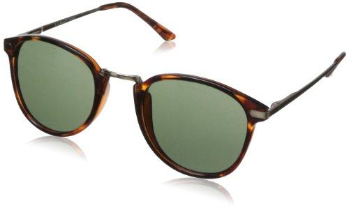 Image of A.J. Morgan Unisex - Adult Castro Round Sunglasses,Tortoise,198 mm