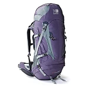 Karrimor Cheetah 50-70F Women's Rucksack - Grape/Elite Grey, 50-70 lt
