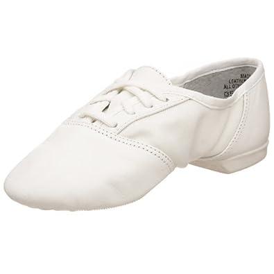 Capezio White Leather Split Sole Ballet Shoes