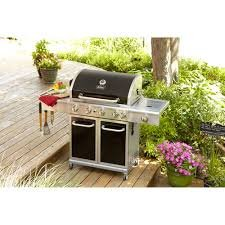 Better Homes And Gardens 5 Burner Gas Grill Black Cooking Stylish Cabinet