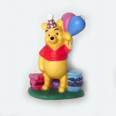 Winnie the Pooh with Balloons Candle by Wilton Baby