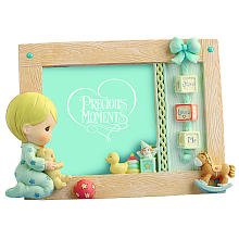 Precious Moments Jesus Loves Me Boy Praying 4 x 6 Photo Frame
