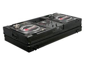 "Odyssey FZBM10WBL Black Label Flight Zone 10"" DJ Mixer & Turntable Case Battle Style by Odyssey"