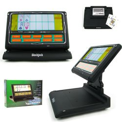 Trademark Laptop Video Blackjack - Touch Screen - Like The Casinos Video Blackjack, Black