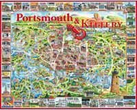 Cheap White Mountain Portsmouth New Hampshire 1000 Piece Jigsaw Puzzle White Mountain (B000TV4F1A)